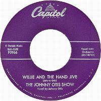 Cover The Johnny Otis Show - Willie & The Hand Jive