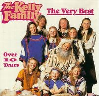 Cover The Kelly Family - The Very Best - Over 10 Years