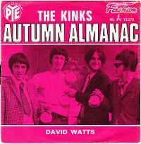 Cover The Kinks - Autumn Almanac