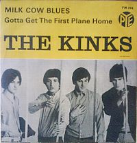 Cover The Kinks - Milk Cow Blues