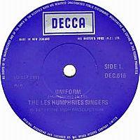 Cover The Les Humphries Singers - Uniform