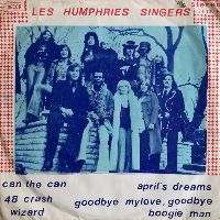 Cover The Les Humphries Singers & Rhythm-Orchestra - Can The Can / 48 Crash / Wizard