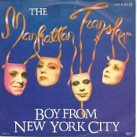 Cover The Manhattan Transfer - Boy From New York City