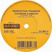 Cover The Manhattan Transfer - Chanson d'amour
