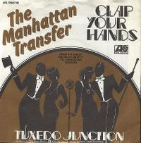 Cover The Manhattan Transfer - Clap Your Hands