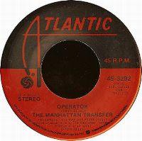 Cover The Manhattan Transfer - Operator