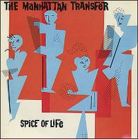 Cover The Manhattan Transfer - Spice Of Life