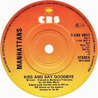Cover The Manhattans - Kiss And Say Goodbye