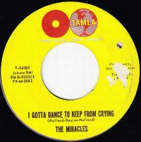 Cover The Miracles - I Gotta Dance To Keep From Crying