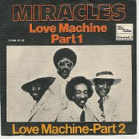Cover The Miracles - Love Machine