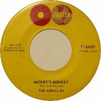 Cover The Miracles - Mickey's Monkey