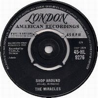 Cover The Miracles - Shop Around