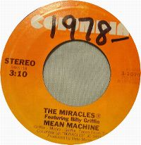 Cover The Miracles feat. Billy Griffin - Mean Machine