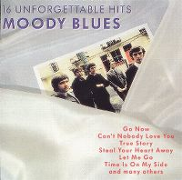 Cover The Moody Blues - 16 Unforgettable Hits