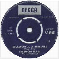 Cover The Moody Blues - Boulevard de la Madeleine
