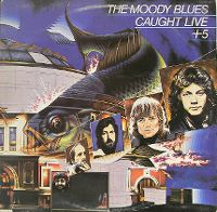 Cover The Moody Blues - Caught Live+5