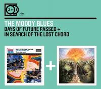 Cover The Moody Blues - Days Of Future Passed + In Search Of The Lost Chord