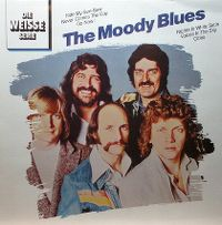 Cover The Moody Blues - Die weisse Serie