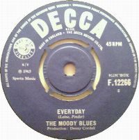 Cover The Moody Blues - Everyday