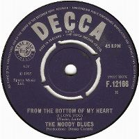 Cover The Moody Blues - From The Bottom Of My Heart (I Love You)