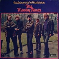 Cover The Moody Blues - On Boulevard de la Madeleine
