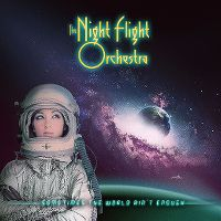 Cover The Night Flight Orchestra - Sometimes The World Ain't Enough