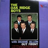 Cover The Oak Ridge Boys - Out Front