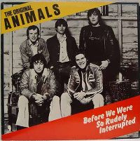 Cover The Original Animals - Before We Were So Rudely Interrupted