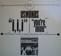 Cover The Osmonds - I, I, I