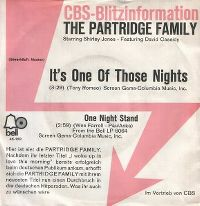 Cover The Partridge Family - It's One Of Those Nights (Yes Love)