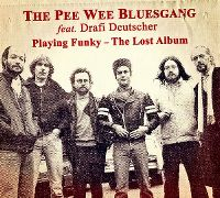 Cover The Pee Wee Bluesgang feat. Drafi Deutscher - Playing Funky - The Lost Album