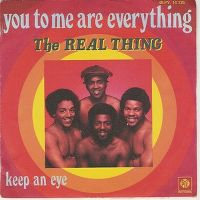 Cover The Real Thing - You To Me Are Everything