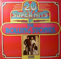 Cover The Rolling Stones - 20 Super Hits By The Rolling Stones