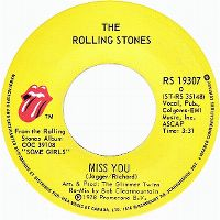 Cover The Rolling Stones - Miss You