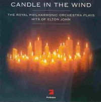 Cover The Royal Philharmonic Orchestra - Candle In The Wind - The Royal Philharmonic Orchestra Plays Elton John