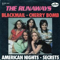 Cover The Runaways - Blackmail