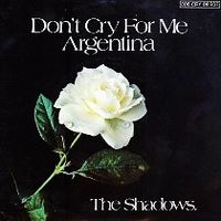 Cover The Shadows - Don't Cry For Me Argentina