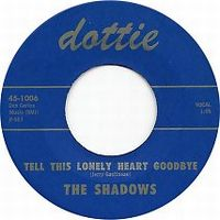 Cover The Shadows - Tell This Lonely Heart Goodbye