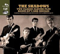 Cover The Shadows - Two Classic Albums Plus Bonus EP's And Singles