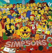 Cover The Simpsons - The Yellow Album