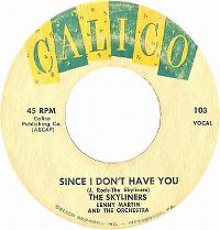 Cover The Skyliners - Since I Don't Have You