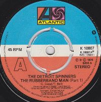 Cover The Spinners - The Rubberband Man