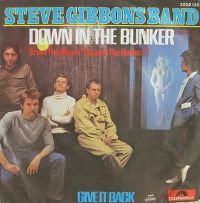 Cover The Steve Gibbons Band - Down In The Bunker