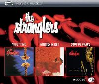 Cover The Stranglers - About Time / Written In Red / Coup de grace