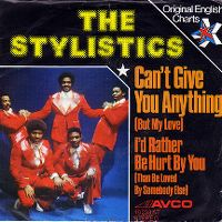 Cover The Stylistics - Can't Give You Anything (But My Love)