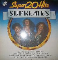 Cover The Supremes - 20 Super Hits