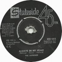 Cover The Supremes - Always In My Heart