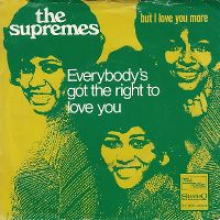 Cover The Supremes - Everybody's Got The Right To Love