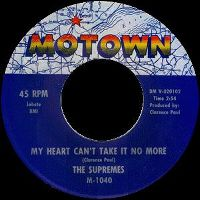 Cover The Supremes - My Heart Can't Take It No More