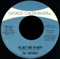 Cover The Supremes - The Only Time I'm Happy